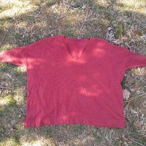 Eileen Fisher Dolman Sleeve Merino Wool Sweater